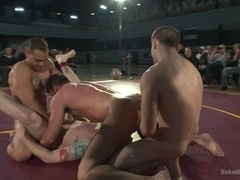 NakedKombat Billy Santoro and Sebastian Keys VS Doug Acre and Brock Avery Live Match