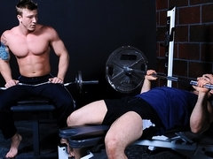 Jaxton Wheeler & Tom Faulk in Virgin Hunter Part 2 Scene