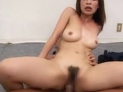 Hard MMF with pretty and sexy Kaho Kasumi