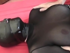 latex breathplay gummi rubber cumshot