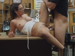 Desperate busty babe Charlie Haper shows tits and gets fucked hard