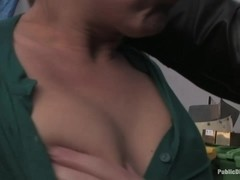 Julie Night Fisted and Fucked in the Junkyard