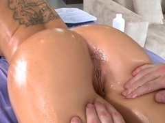 Christy loves her ass rubbed
