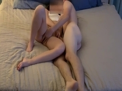 Amateur babe gets fucked and then cumshot