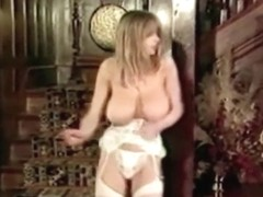 the 80 s vintage big tits striptease stockings dance