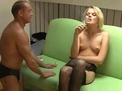 Femdom Nylon Foot Worship Ass Take Up With The Tongue Human Ashtray Spit