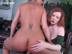 *FULL VIDEO* Double-Stuffed Stepmoms Brooklyn Chase & Lady Fyre