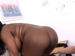 Jada Fire sets an alternative exam for her naughty student