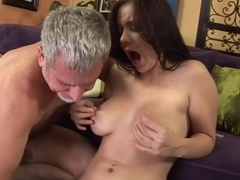 Amazing pornstar Beverly Hills in horny blowjob, cunnilingus adult video