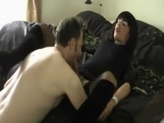 Exotic Amateur Shemale movie with Stockings, Big Dick scenes