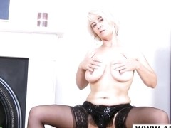 Very Sexy Mommy Dana Bangs Good Touching Step-son
