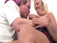 Orhidea In Moms Hairy Ass Gets Destroyed