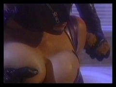 Boyfrend fucking beauty in the leather mask