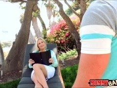 Dakota James and Angel Allwood crazy threesome action
