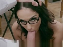 Anissa Kate Discovers Her Student Looking At Her Ass