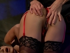 Crazy fisting, fetish xxx movie with exotic pornstars Ariel X and Nadia Styles from Whippedass