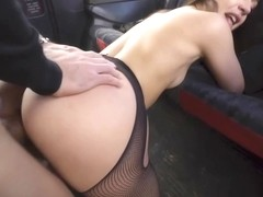 Taxi Driver Risks It All For Martinas Pussy! With Martina Smeraldi