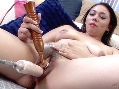 ATKhairy: Stephanie Saint - Sex Machine Movie