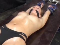 Blonde Shackled And Tortured By Pendulum Short Version