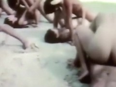 Vintage Thai Beach Orgy