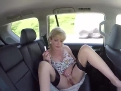 Unfaithful british mature lady sonia shows off her enormous breasts