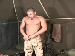 Military Men jerkoff