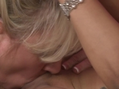 Crazy pornstars Melrose Foxxx, Tara Lynn Foxx, Cala Craves in Best Interracial, Lesbian adult scene