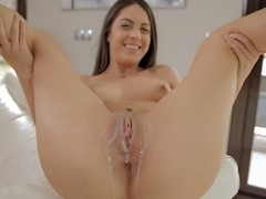 Carolina Abril in Pool Guy Fucking - PornPros Video