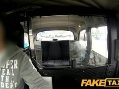 FakeTaxi: Tiny youthful thief pays for her crime