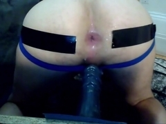 Destroying My Hole With Huge Dildo 7