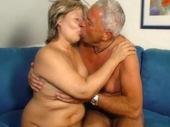 Sexy Granny Karin A. Gets Hard By Husband