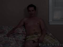 Brett Stone Fulfills His Fantasy For Black Cock