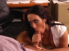 Rocco gets his cock swallowed by Capri