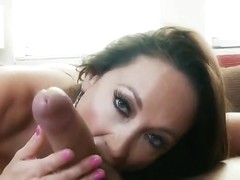 Snazzy dusky English MILF Michelle Lay in lesbo porn video