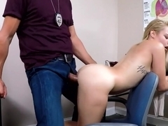 Skylar Valentine was tricked to take off her panties and suck dick before getting fucked