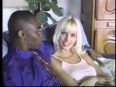 Anita Blonde Interracial