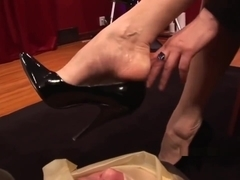 Sharina Nicole Latex Foot Smother