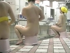 Asian amateurs spreading pussies on shower voyeur cam dvd 03185
