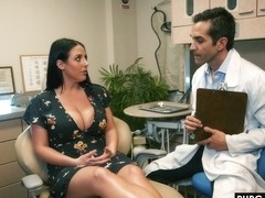 the dentist, Angela White