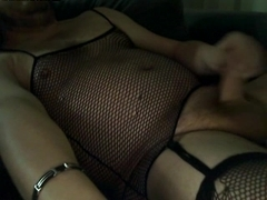 Cross Dressing Slut Wanking