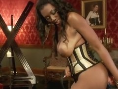 Beautiful Nyomi Banxxx is fucking in BDSM porn