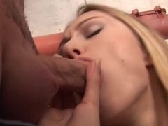 Fabulous pornstar Sabrina White in exotic facial, blowjob xxx scene