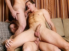 Brandon Lewis & Jack King & Liam Magnuson in Bromance Video