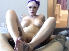 Baby Doll In Daizha Morgann - Feet, Mouth & Dick