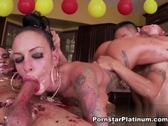 Angelina Valentine in Birthday Cocks