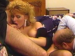 Hot Vintage 80's Orgy Fuck And Suck