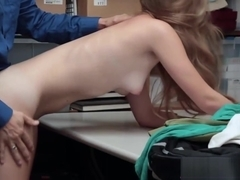Cute Teen Jacker Gets Drilled