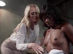 Best anal, milf sex scene with exotic pornstars Simone Sonay and Ana Foxxx from Whippedass
