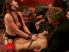 Gorgeous Anal Sex Slave Petitions to Serve the House