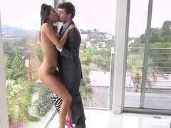 Fabulous pornstars Jayden Lee, James Deen, Jenna Moretti in Amazing Stockings, Big Tits porn video